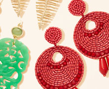 Statement Earrings: 50 New Styles Online Sample Sale @ Gilt